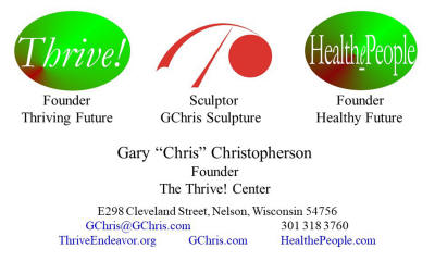 Chris business card